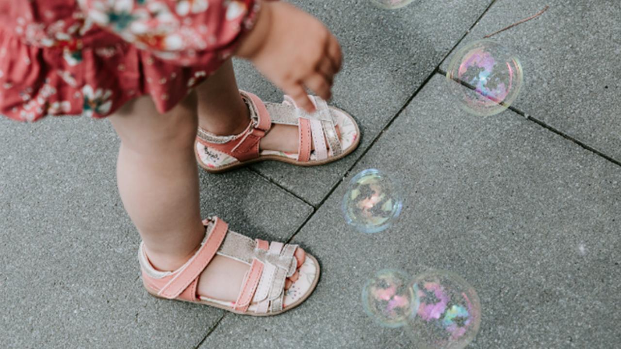 Sandalen von Anna und Paul