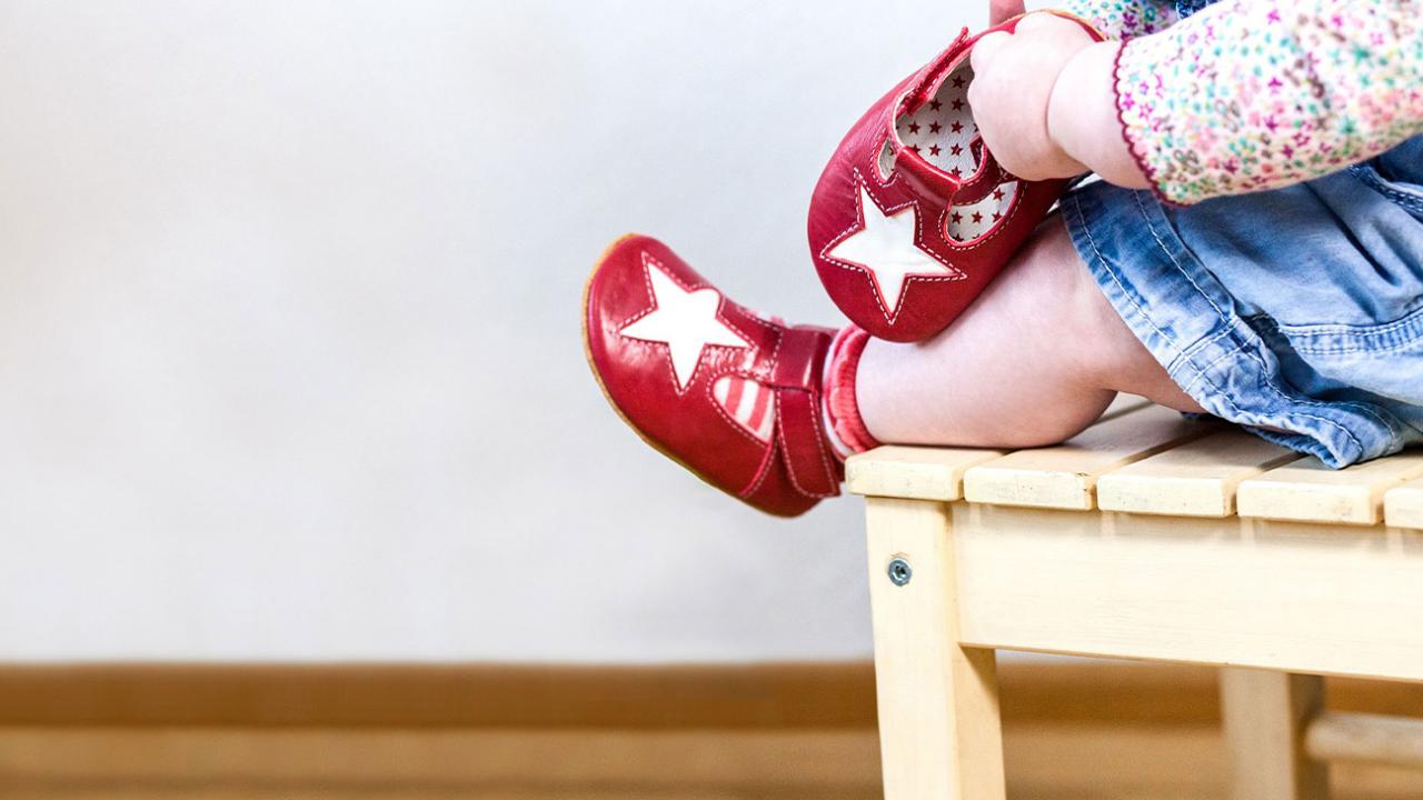 Schuhe für Babys und Kleinkinder von Anna und Paul