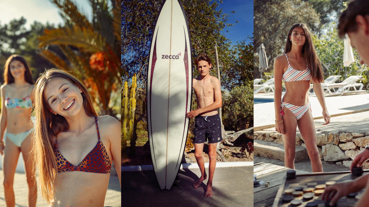 Badehosen und Bikinis sowie Badeanzüge für Teenager von Barts