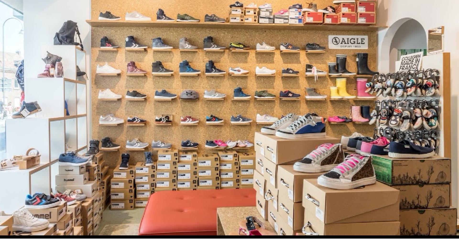 Kinderschuhe und Schuhe für Damen