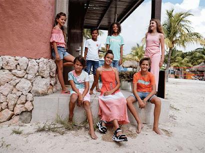 Sommer Bekleidung Kinder und Teenager